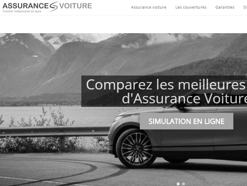 Nouveau site AssurancesVoiture.be pour le groupe RGF